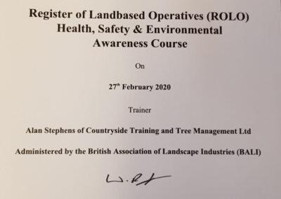 Health, Safety & Environmental Awareness Course